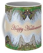 Halloween Fantasmagorical Cicada Card Coffee Mug