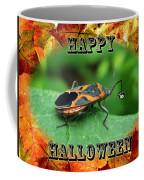Halloween Greeting Card - Box Elder Bug Coffee Mug