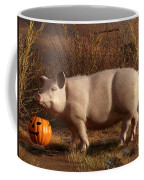 Halloween Pig Coffee Mug