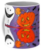 Halloween Reflections Coffee Mug