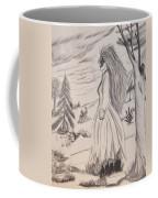 Halloween Witch Walk Coffee Mug