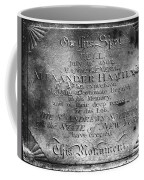 Hamilton: Pamphlet, 1797 Coffee Mug