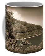 Hana Highway Sepia Coffee Mug
