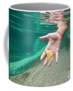 Hand Takes A Leaf Coffee Mug