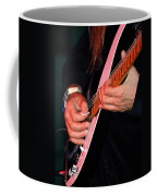 Sun In The Hands And Guitar Of Uli Jon Roth Coffee Mug