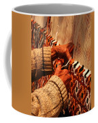 Hands Of The Carpet Weaver Coffee Mug