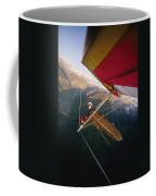 Hang Gliding With Wing-mounted Camera Coffee Mug