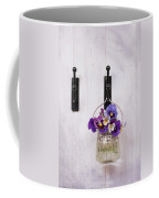 Hanging Pansies Coffee Mug