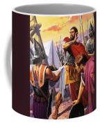 Hannibal Discovers The Grisly Fate Of His Brother Hasdrubal Coffee Mug
