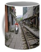 Hanoi Train Tracks Coffee Mug