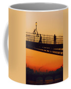 Hapenny Bridge, Dublin, Co Dublin Coffee Mug