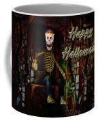 Happy Halloween Skeleton Greeting Card Coffee Mug