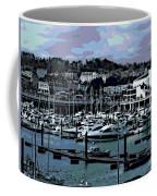 Harbor At Torquay Coffee Mug