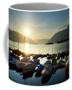 Harbor In Sunrise Coffee Mug