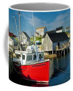 Harbour Mist In Peggy's Cove No 103 Coffee Mug