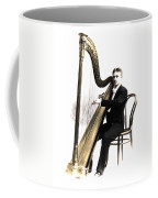 Harp Player Coffee Mug