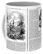 Harpers Magazine, 1861 Coffee Mug