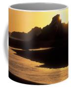 Harris Beach Sunset Coffee Mug