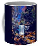 Harrison Wright Falls In Fall Coffee Mug