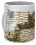 Harrisons Log Cabin March Coffee Mug