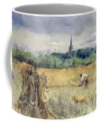 Harvest Field At Stratford Upon Avon Coffee Mug