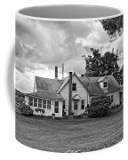 Harvest Time In Pennsylvania Monochrome Coffee Mug