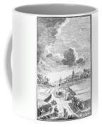 Harvesting, 18th Century Coffee Mug