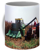 Harvesting Corn Coffee Mug