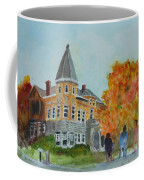 Haskell Free Library In Autumn Coffee Mug