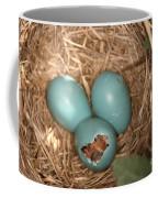 Hatching Robin Nestlings Coffee Mug
