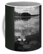 Haukkajarvi Water Lilies In Bw Coffee Mug