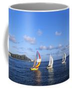 Hawaii Sailboats Coffee Mug