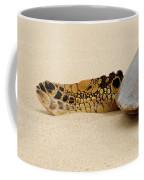 Hawaiian Green Turtle Rear Tail Fin Coffee Mug