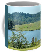 Hay Rolls On A Hill Coffee Mug