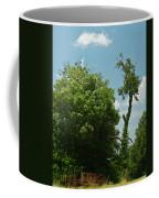 Hayrake In The Woods Coffee Mug
