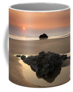 Hazy Oregon Sunset Coffee Mug