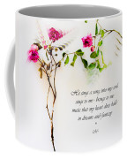 He Sings  Series Image 1 Coffee Mug