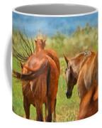 Heading Home Painterly Coffee Mug