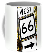 Heading West On Route 66 Coffee Mug