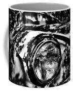 Headlights In The Woods Coffee Mug