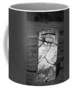 Headstone Of Lafayette Meeks Coffee Mug by Teresa Mucha