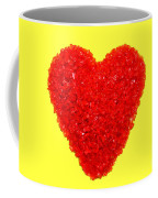 Heart Of Glass Coffee Mug by Olivier Le Queinec