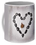 Heart With Rose Coffee Mug by Joana Kruse