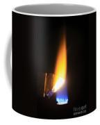 Heating Lime Limelight Coffee Mug by Ted Kinsman