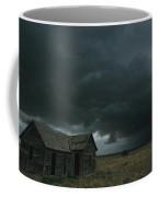 Heavy Dark Clouds Foretell A Possible Coffee Mug