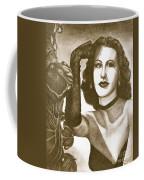 Heddy Lamar Coffee Mug by Debbie DeWitt