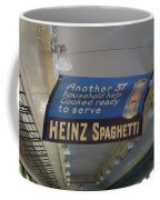 Heinz Spaghetti Train Ad Signage Digital Art Coffee Mug