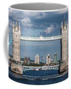 Helicopters And Tower Bridge Coffee Mug