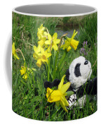 Hello Spring. Ginny From Travelling Pandas Series. Coffee Mug
