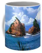Hells Gate Rocks Near Calibishie Dominica Coffee Mug